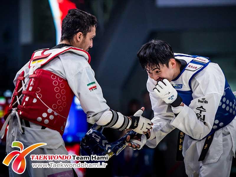 هادیپور: واقعا از ته دل از کسب مدال طلای مردانی خوشحال شدم / داور دیدار نیمهنهایی کاملا کم لطف بود